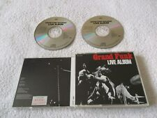 Rare Japan Promo, GRAND FUNK RAILROAD - Live Album, 2 CD Box Set 1995 Import EMI