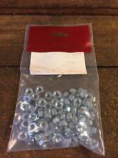 Packs of 100 M6 Full Nuts