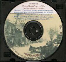 Columbiana County Ohio History- + Bonus Books