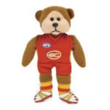 SKANSEN BEANIE KID SUNNY THE GOLD COAST SUNS AFL MINT WITH MINT TAG MARCH 2013