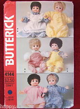 """BITTY BABY DOLL CLOTHES PATTERN fits 16""""/ 40 cm,VINTAGE UNCUT BUTTERICK 8 ITEMS"""
