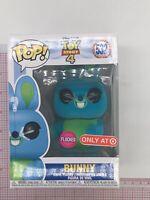 Funko POP! Disney Toy Story 4 #532 - FLOCKED BUNNY- Target Exclusive B01