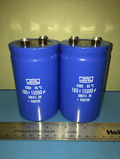 Phase Linear PL700, PL700B, PL700 Series 2 15KuF/160V Capacitor Upgrade Pair