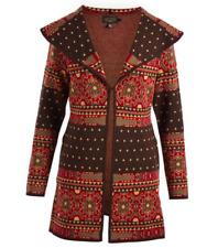 Icelandic Design Women's Shakira 100% Merino Wool Sweater Wrap  - Size Small