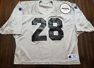 Vintage Champion Chicago Bears 10 Year Super Championship Anniversary Jersey...