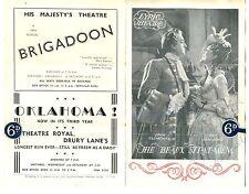 John Clements & Kay Hammond signed programme autograph 1950 The Beaux' Stratagem