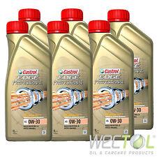 ANGEBOT 6x1 Liter Castrol Edge Professional A5 0W-30 TITANIUM FST SONDERPREIS