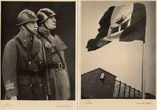 More details for 4 fascism italy benito mussolini  rodolfo graziani rp pcs unused ref t249