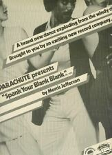 MORRIS JEFFERSON Spank Your Blank Blank 1977 POSTER AD