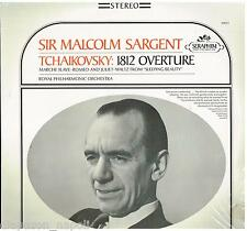 Tchaikovsky: overture 1812, Marcia Slava Etc. Malcom Sargent - LP Vinyl 33 Rpm