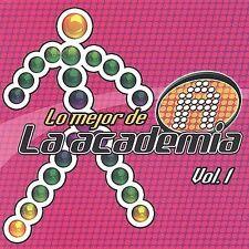 Lo Mejor de la Academia, Vol. 1 by Various Artists (CD, Dec-2002, )NEW