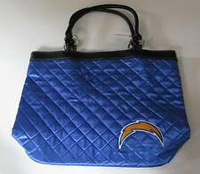 SAN DIEGO CHARGERS LITTLEARTH QUILTED TOTE BAG PURSE