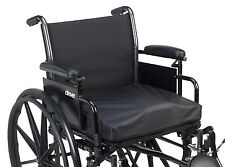 "24"" by 20"" by 3"" Drive Titanium Gel/ Foam Wheelchair Cushion Positioning Aid"
