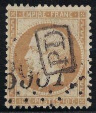 EMPIRE - N°21 - OBLITERATION PD EN NOIR - COTE 90€ (P1) - UNE DENT COURTE.