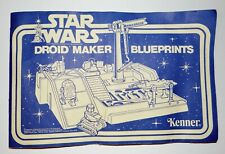 1979 Vintage Star Wars Droid Factory Original Instructions Manual