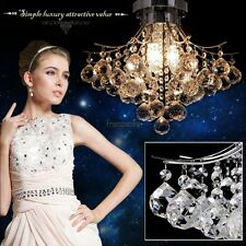 Crystal Chandelier Lighting Ceiling Light Lamp Pendant Fixture Durable