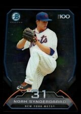 NOAH SYNDERGAARD  MINT NEW YORK METS ROOKIE 31 RC 2014 BOWMAN CHROME TOP 100