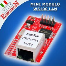 Mini Modulo W5100 LAN Ethernet Shield Network Board Rete Arduino PIC IoT 3,3V