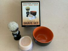 Shaving Set, Brush, Cup, Soap Nostalgic Gift