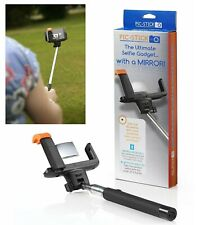 ORIGINAL SELFIE PIC STICK WITH MIRROR EXTENDABLE WIRELESS BLUETOOTH SELFIE STICK