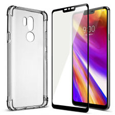 For LG G7 ThinQ Case Anti Watermark Cover+Screen Protector