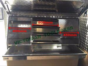 140x50x70cm Aluminium Toolbox Full Door  Ute Truck  with 5 Drawers tool box