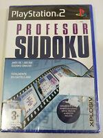 Professeur Sudoku PS2 PLAYSTATION 2 Xplosiv Espagnol Neuf Am