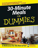 NEW 30-Minute Meals For Dummies by Bev Bennett