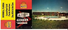 Best Western Motel Bushnell Florida FL Long Vintage Postcard