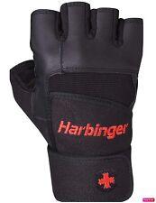 Harbinger Wristwrap Pro Gloves Weight Lifting Gym Wrist Strap glove training