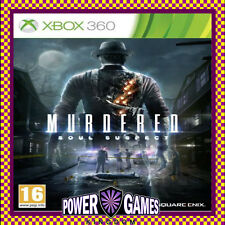 MURDERED SOUL SUSPECT (Microsoft Xbox 360) Brand New