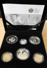 UK Royal Mint 2009 Family Silver Proof Collection (6 Coins) includes Kew Gardens