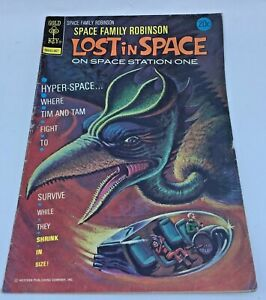 GOLD KEY COMIC Space Family Robinson LOST in Space July 1974  #40 VG/FN