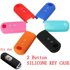 2 Button Silicone Cover Remote Smart Key Case Fob For Mazda 3 6 CX-5 CX-7 CX-9