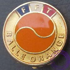 Insigne FFT, Fédération Française de Tennis, Balle Orange, école, tests, mérite