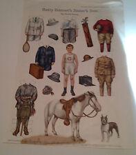 Betty Bonnet's Sister's Son Paper Doll - Ladies Home Journal Jan 1917 -Original