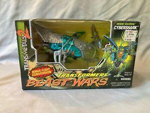 Transformers Beast Wars Transmetals 2 CYBERSHARK- NIB