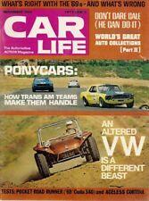 CAR LIFE 1968 NOV - YARBOROUGH, TRANS AM RACING, DONOHUE, KIT CARS, COP CARS