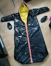 Adult Baby saco de dormir overall goma laca plástico PVC forradas sleeping bag