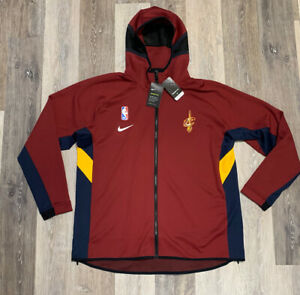 Cleveland Cavaliers Nike Therma Flex Showtime Mens Jacket Red 2XL Team Issued