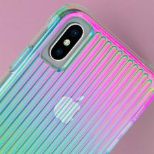 Case-Mate Apple iPhone X / XS Tough Groove Case ~ Iridescent Target $40 BNIB