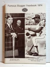 Original 1974 Louisville Slugger Famous Slugger Yearbook- 64 Pages (T-1073)