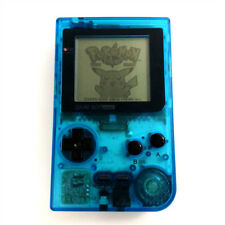 Refurbished Clear Light Blue Nintendo Game Boy Pocket Game Console + Game Card