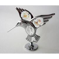Ornament/Figurine - Crystocraft/Crystal - Fantail Hummingbird - Swarovski Crysta