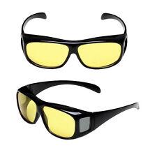 Unisex As Seen on TV HD Wrap Around Night Vision Driving Aviator Glasses Eyewear