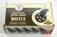 Office Owl Rollerblade Office Gaming Chair Wheels Casters Rubber Set Of 5