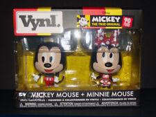 New listing Funko Vynl Disney Mickey + Miniie Mouse Figure 2-Pack pop vinyl vaulted toy