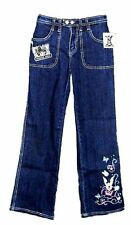 "DISNEY TINKER BELL Girls Jeans Size 14 TALL 28 x 28"" NEW"