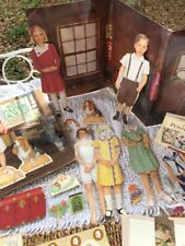 Retired American Girl Dolls Collection Kirsten Stationary Kit's Paper Dolls Book