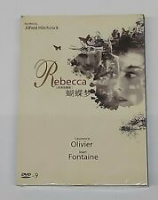 "Alfred Hitchcock ""Rebecca"" Laurence Olivier Mystery 1940 Classic Dvd"